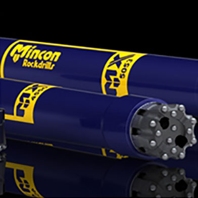 Mincon: DTH Hammers, RC Hammers for Mineral Exploration, HDD Hammers